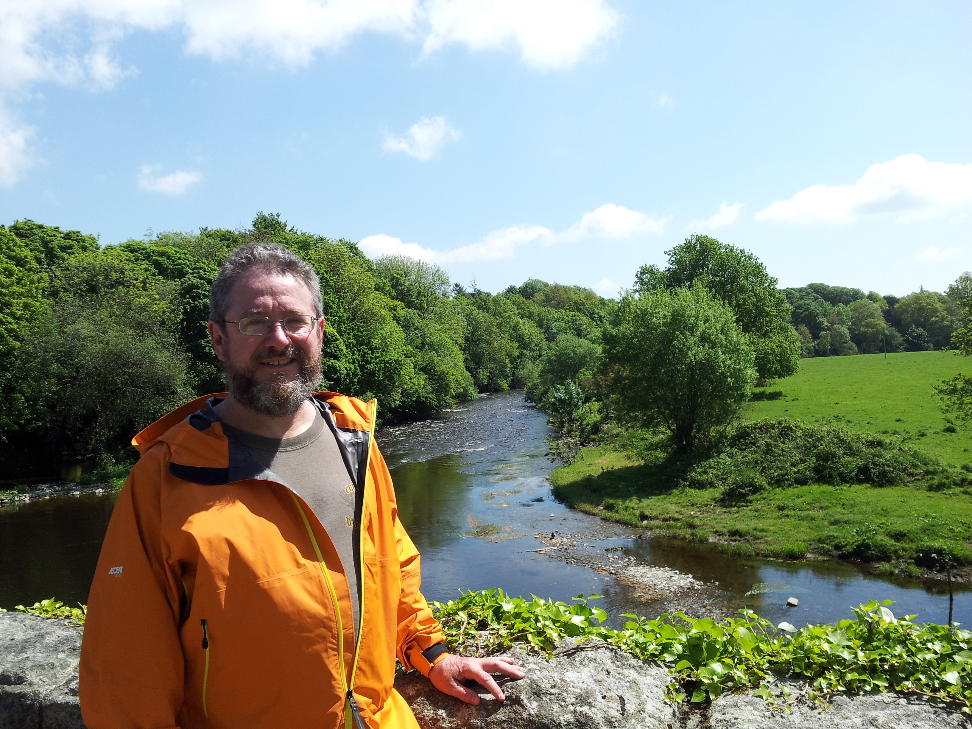 Me, with River Slaney