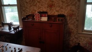 antique furniture and model house