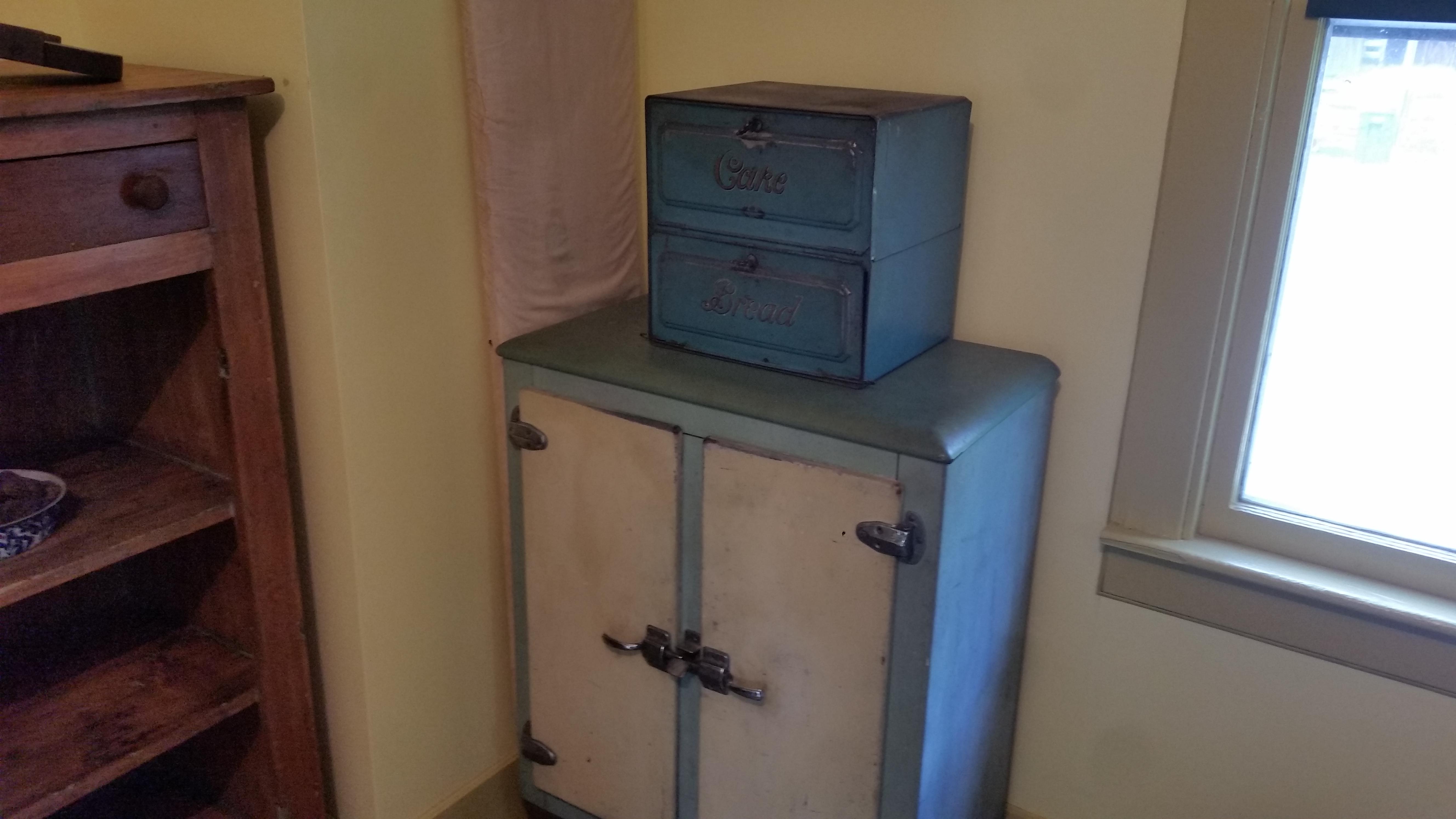 antique kitchen appliance