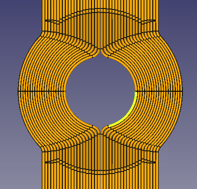 bent tubes in 3D program