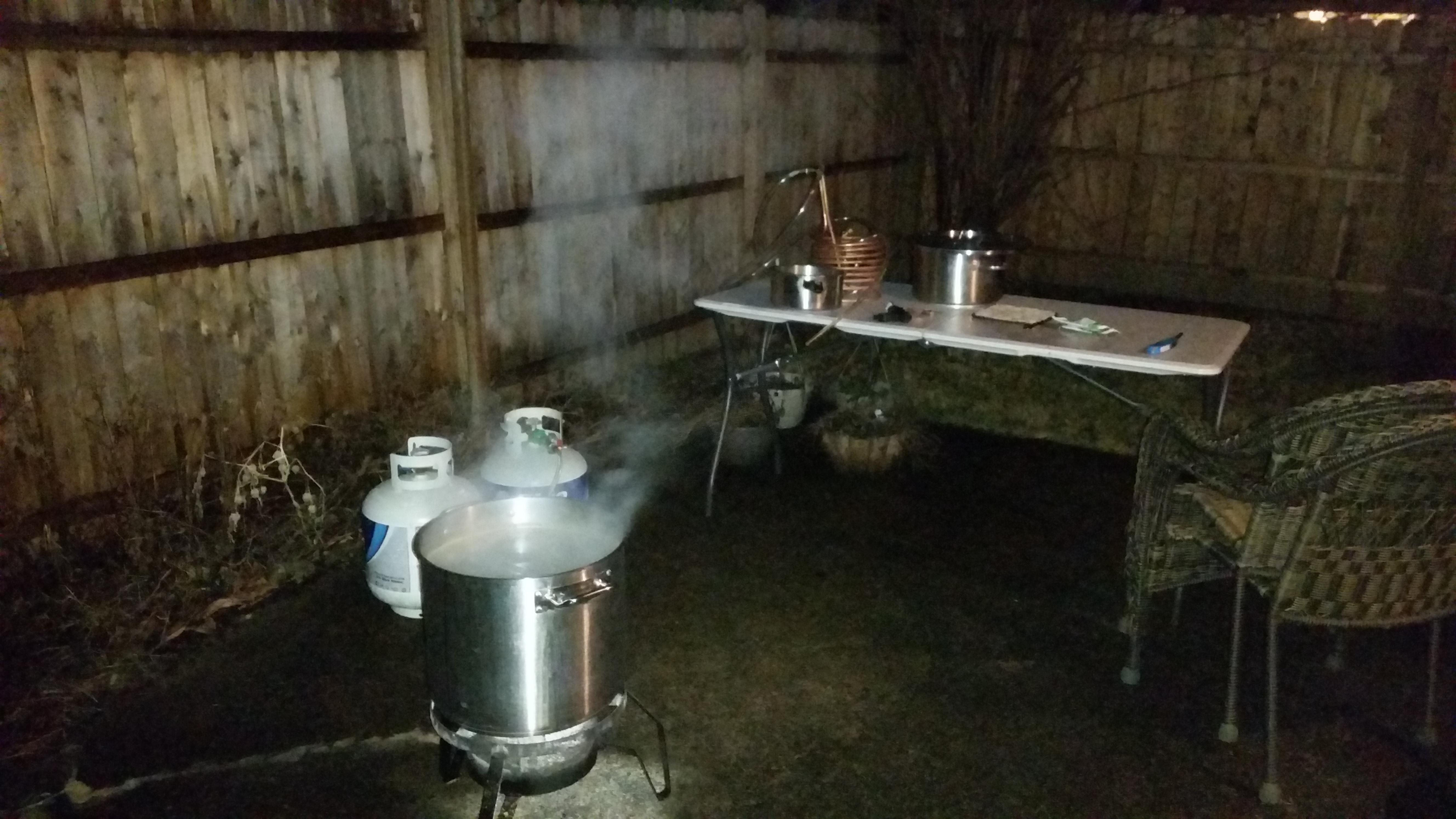outdoor brewing equipment