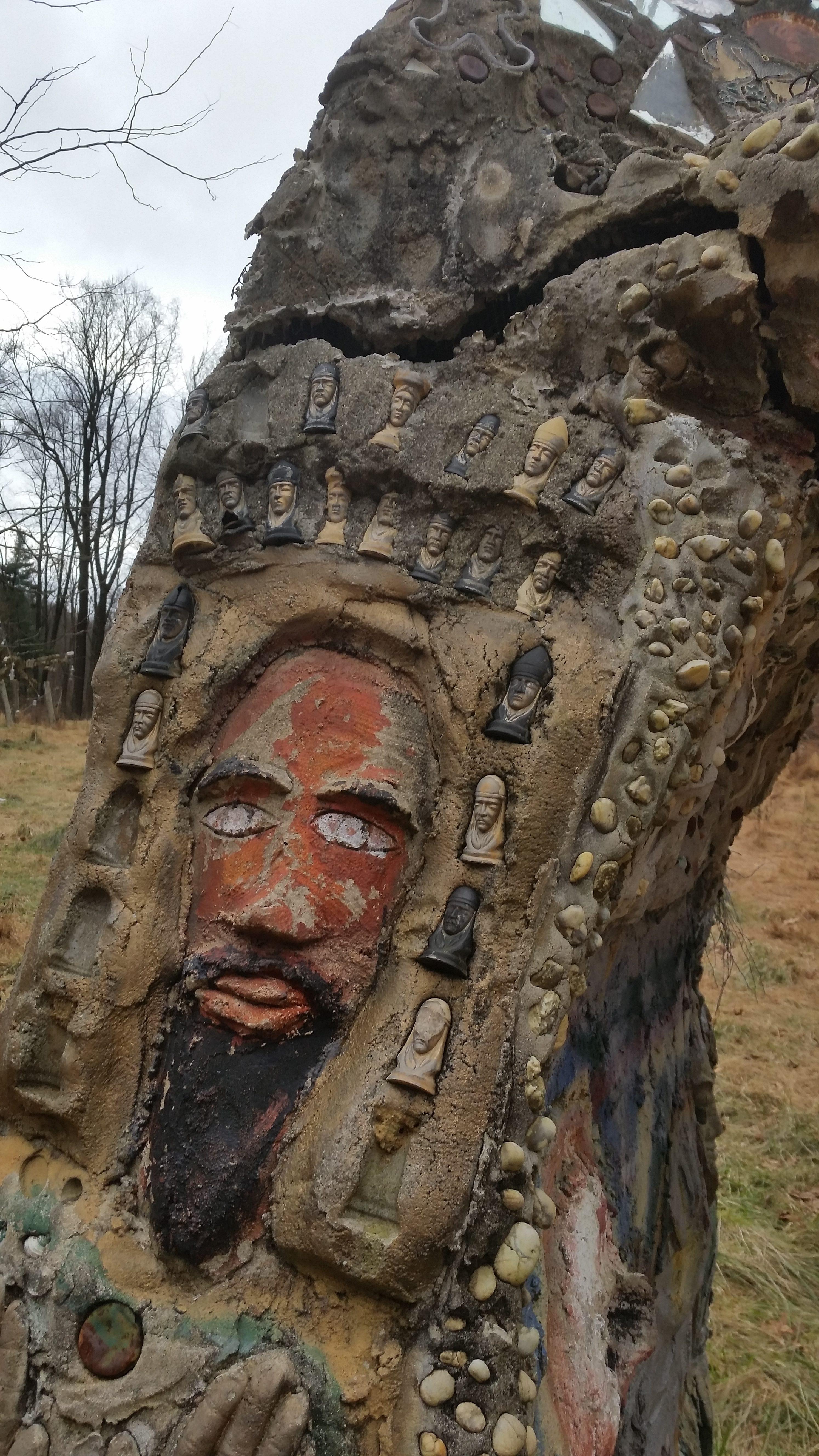 folk art in concrete