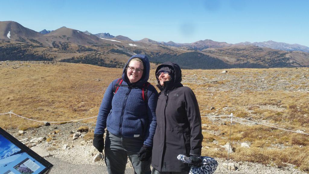women in tundra